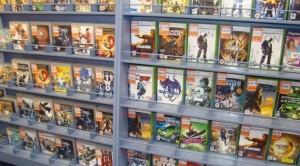 Videogames retailer