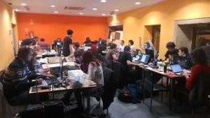 Zona de Trabajo Global Game Jam Gipuzkoa