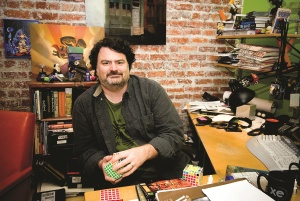 Foto: Tim Schaffer (Fun and Serious Game Festival)