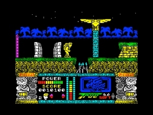 Jungle Warrior (Zigurat/True Soft, 1989)
