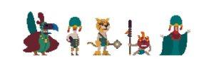 Los aztecas serán una de las familias disponibles en el videojuego vasco (Kaia Studios)