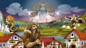 Sorginen Kondaira personajes mitologicos