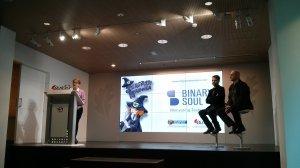 Presentación Sorginen Kondaira Binary Soul