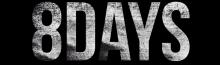 8DAYS logo Title