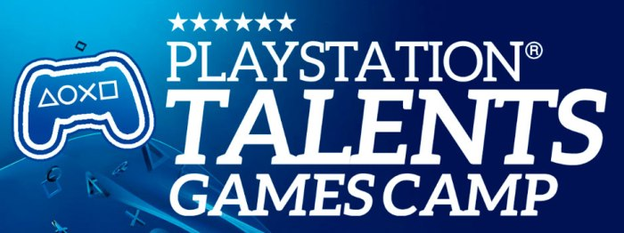 Logo de PlayStation Games Camp