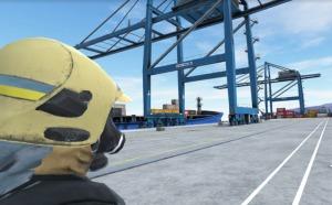 Ludus ha recreado el Puerto de Bilbao en 3D