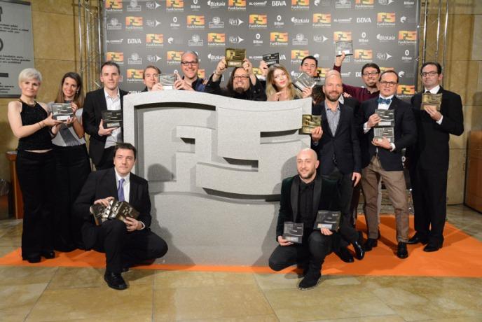 Bilbao acogió a los Premios Titanium en el marco del festival Fun and Serious Game